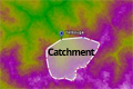 Tutorial: the use of free online data to determine catchment boundaries