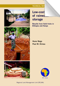 Low-cost methods of rainwater storage; Results from field trials in Ethiopia and Kenya