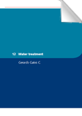 Small Community Water Supplies: Water treatment (chapter 12)
