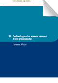 Small Community Water Supplies: Technologies for arsenic removal (chapter 23)
